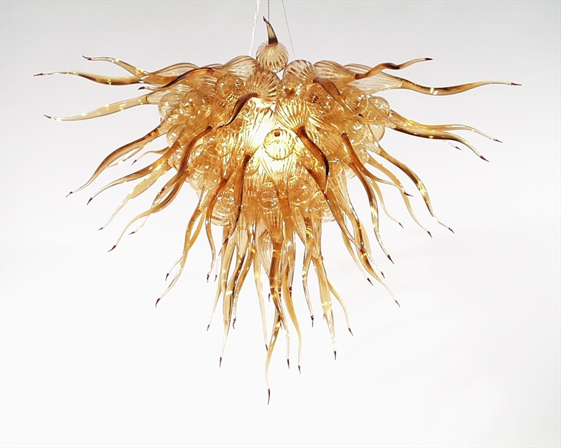 Picture of Blown Glass Chandelier 225