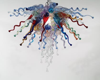 Picture of Blown Glass Chandelier 231