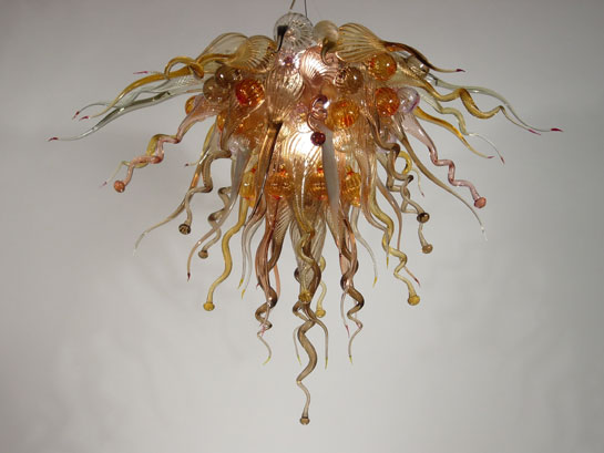 Picture of Blown Glass Chandelier 432