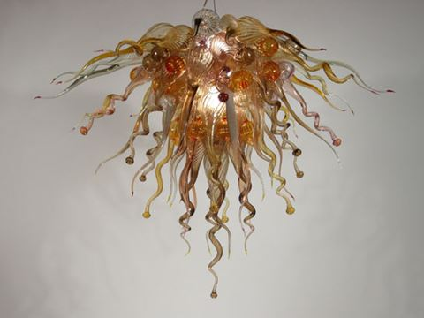 Blown Glass Chandelier 432