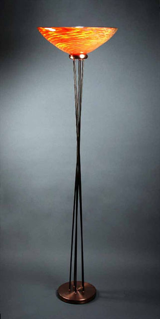 Unique Floor Lamp | Torchiere