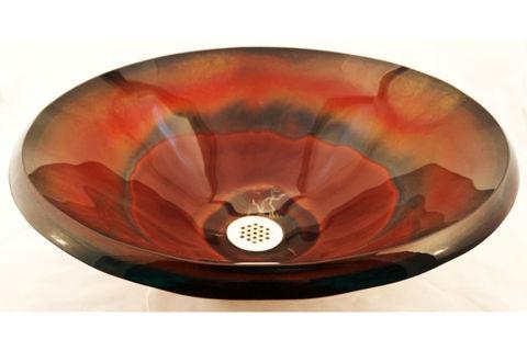 Blown Glass Sink | Agni
