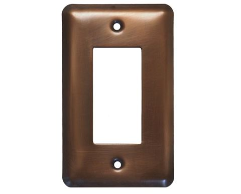 1-5 gang Deco Copper Switch Plate Cover
