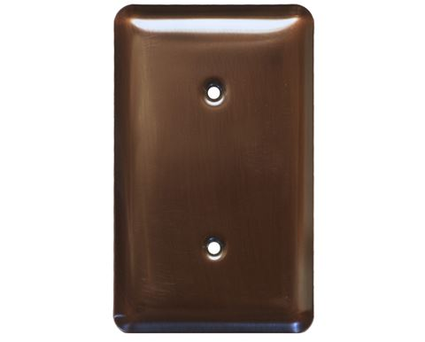 1-5 gang Blank Copper Switch Plate Cover