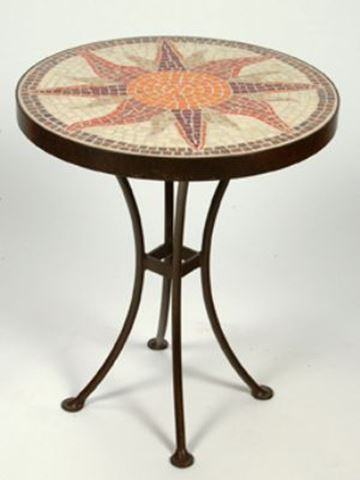 Sunburst Accent Table