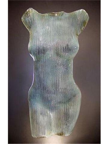 Diana Glass Torso Sculpture