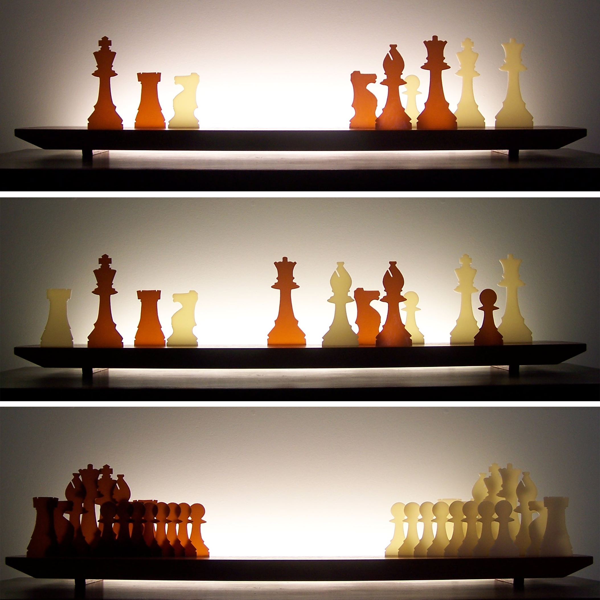Picture of Checkmate Glasscape Lighting Sculpture