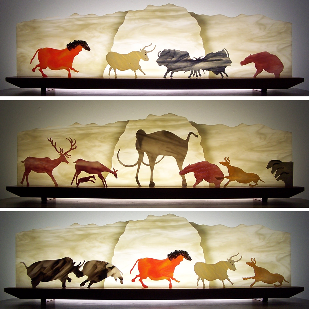 Picture of Carnival of the Cave Animals Glasscape Lighting Sculpture