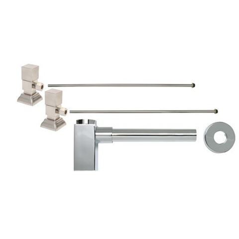 Square Decorative P-Trap Kit