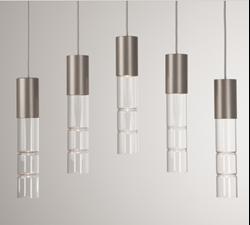 Linear Chandelier | Bamboo 5