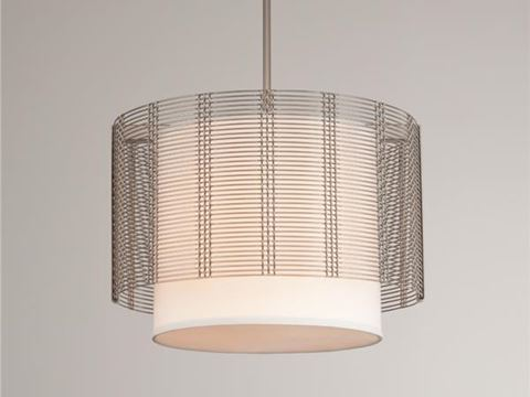 Drum Chandelier | Downtown Mesh IV
