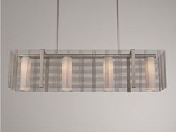 Linear Chandelier | Downtown Mesh