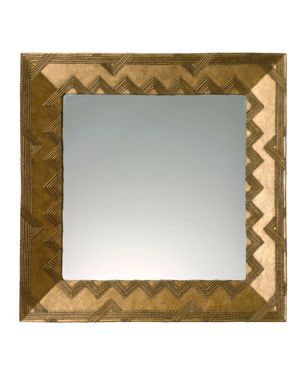 Picture of Woven Handcrafted Square Mirror