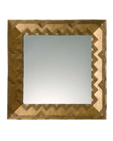 Woven Handcrafted Square Mirror