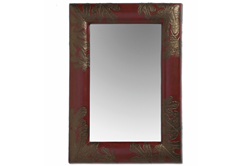 Fig Leaf Handcrafted Rectangle Mirror