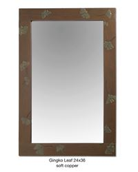 Picture of Ginkgo Leaf Mirror