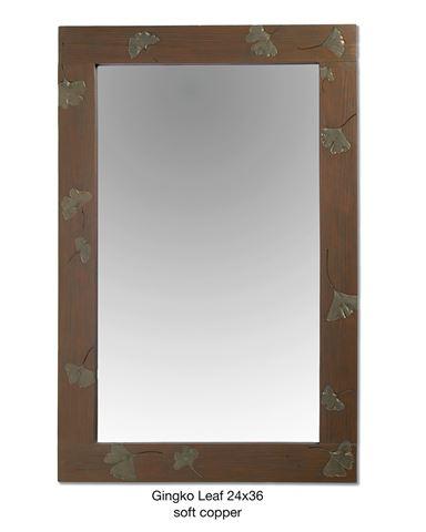 Ginkgo Leaf Mirror