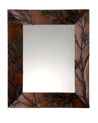 Pine Bough Rectangular Mirror