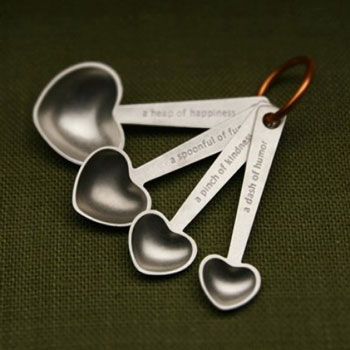 Picture of Beehive Handmade Quotes Measuring Spoons