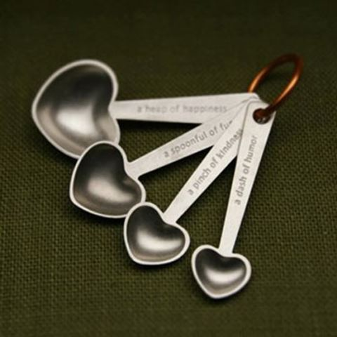 Beehive Handmade Quotes Measuring Spoons