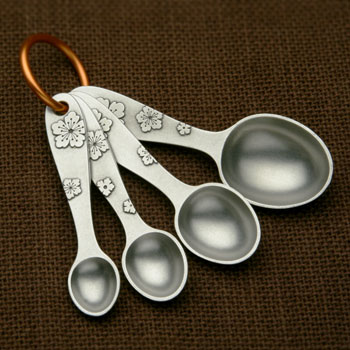 Picture of Beehive Handmade Blossom Measuring Spoons