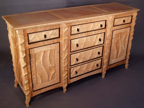 Sculpted Sideboard