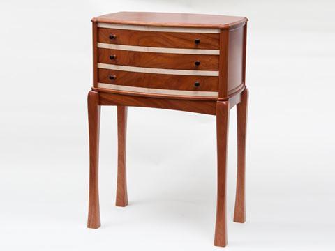 Mahogany Silverware Cabinet