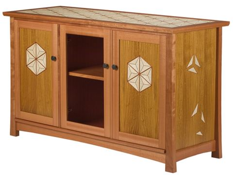 Triangular Cabinet
