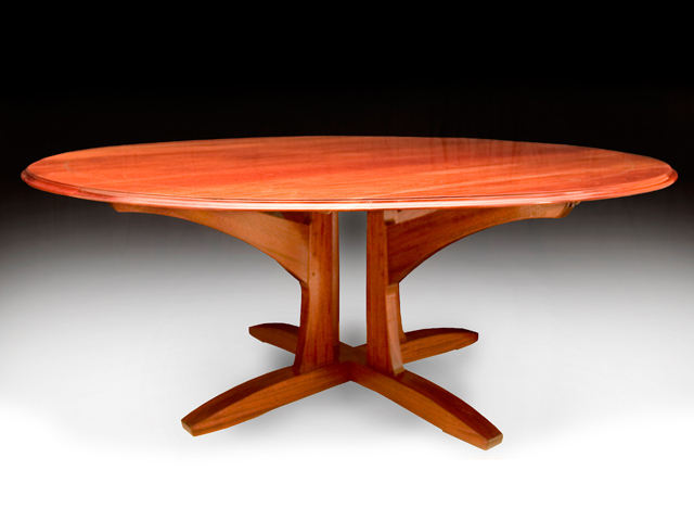 Picture of Mahogany Poker Table