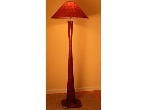 Unique Floor Lamp | Rectangular Contour Base