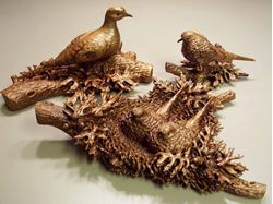 Picture of Mourning Doves Sculpture