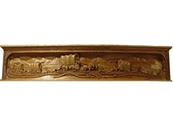 Picture of Wagon Train Mantel