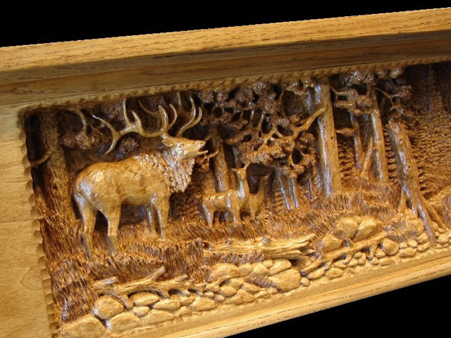 Picture of Rogue River Mantel