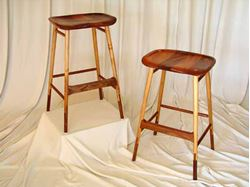 Sapele Bar Stool
