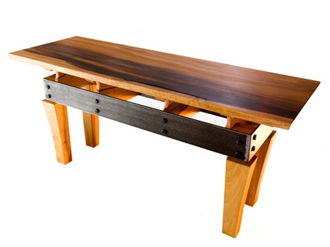 Steel Apron Coffee Table