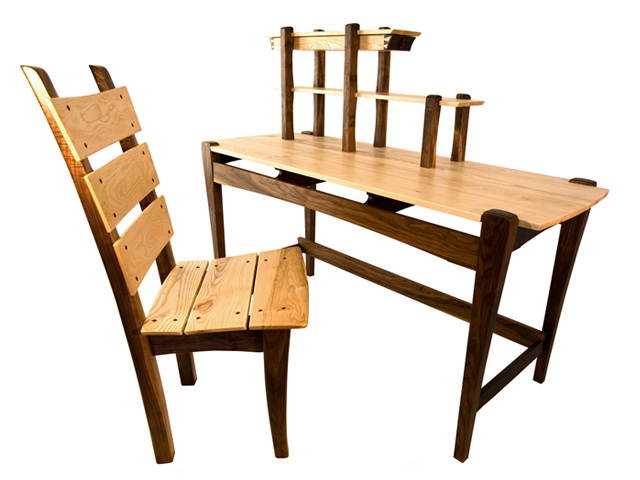 Picture of Writing Desk and Chair