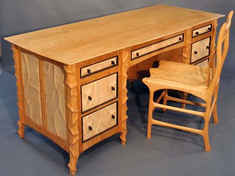 Executive Desk and Chair
