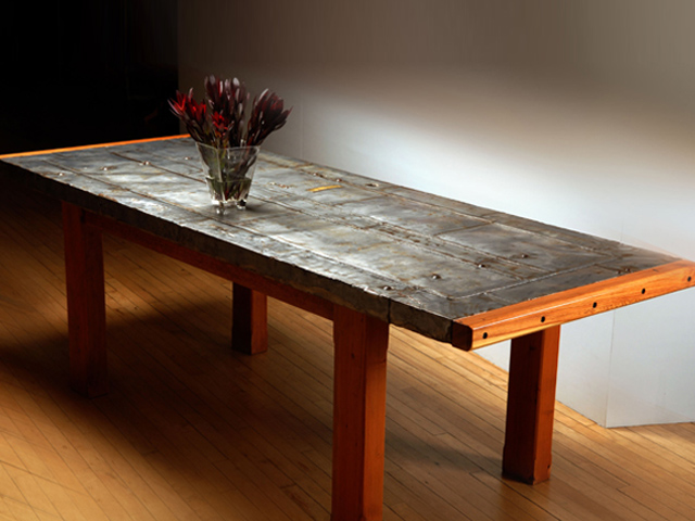 Picture of Steel Mill Table