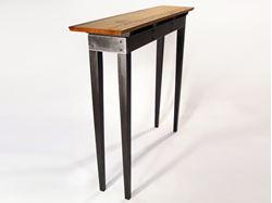 Steel Apron Sofa Table