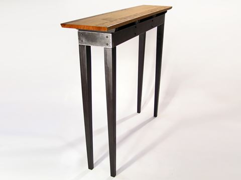 Steel Apron Sofa Table