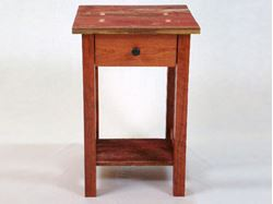 Picture of Barn Wood and Cherry Custom Table