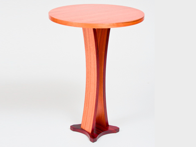 Picture of Bowed Pedestal Table