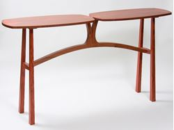 Picture of Walnut and Bubinga Side Table
