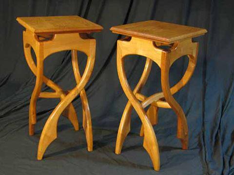 Crazy Leg End Tables