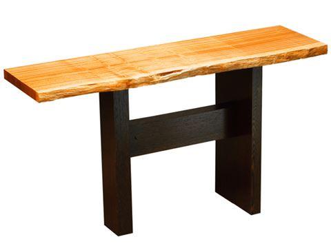 Slab Hall Table