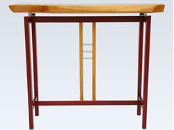 Picture of Purpleheart and Cherry Art Table