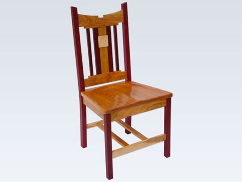 Purple Heart Dining Chair