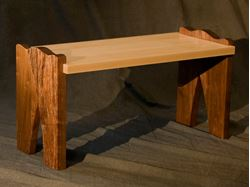 Picture of Bark Bench