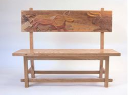 Picture of Cave Painting Bench