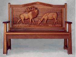 Picture of Elk Manor Bench